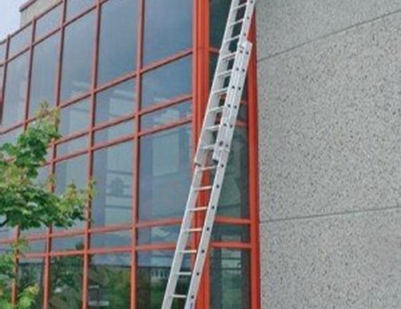 Krause - összeszerelhető alumínium ablaktisztító létra