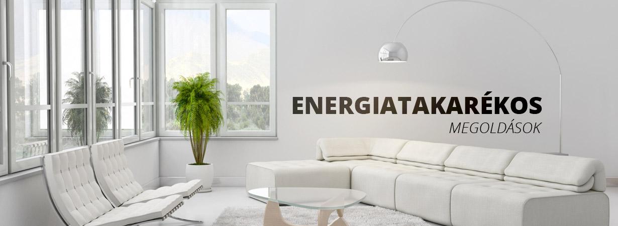 Energiatakarékos megoldaások